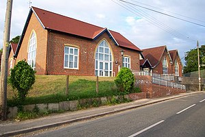 Sixpenny Handley - Sixpenny Handley First School in 2004