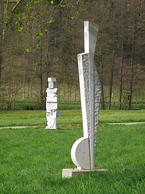 Durbach - Image: Skulpturenpark Durbach 2014 26 049 f