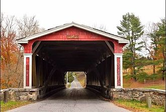 Brandywine Creek (Christina River tributary) - Smith's Bridge over the Brandywine Creek.