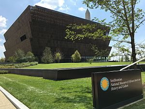 National Museum of African American History and Culture - Exterior of the museum July 20, 2016