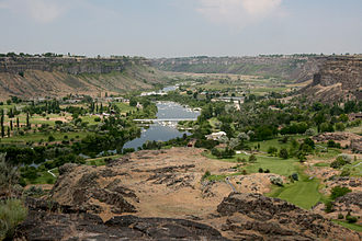 Twin Falls, Idaho - Snake River Canyon