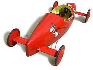 Gravity racer - An official Soapbox derby racer from 1967