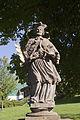 Socha - sv. Jana Nepomucký, Boží Dar 02.jpg