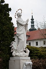socha Panny Marie z Exilu