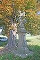 Socha svatého Vincence, na křižovatce směr Miskolezy a Jaroměř 02.JPG