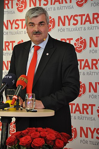 Håkan Juholt - Juholt in March 2011, when he was elected as the new party chairman.