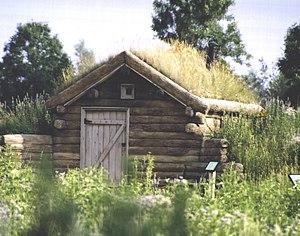 Gibbs Museum of Pioneer and Dakotah Life - Replica sod house