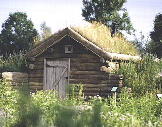 Gibbs Museum of Pioneer and Dakotah Life - Replica sod house