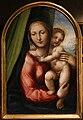 Sodoma, testate di cataletto dalla compagnia della morte di siena, 1526-27 (siena, opera del duomo) 02 madonna col bambino.jpg