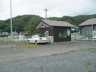 Sokei Station Railway station in Miyako, Iwate Prefecture, Japan