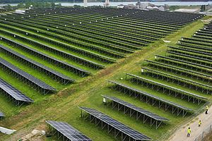 Solar power in Belgium - Photovoltaic power station in Belgium