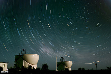 Telescópios do South African Astronomical Observatory (SAAO) em Sutherland, na província do Cabo Setentrional. - África do Sul
