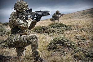 Royal Regiment of Fusiliers - First Fusiliers in the Falklands
