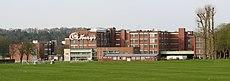 Somerdale Factory, Keynsham, from lawns