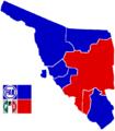 Sonora Municipios Distritos Electorales Federales LXII Legislatura.png