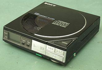 Discman - Image: Sony D50 Discman