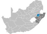 South Africa Districts showing Amajuba.png