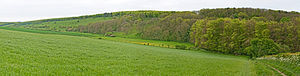 Cuckmere Valley - Image: South Downs Way, Cuckmere Valley, England May 2009