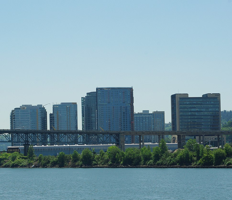 South Waterfront from OMSI - Portland, Oregon.JPG