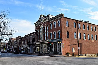 Missouri State Capitol Historic District - South side of the 100 block of East High Street