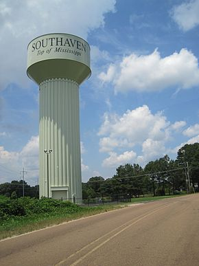 Southaven MS 06 Watertower Starlanding Rd.jpg