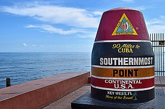 Southernmost point buoy, NE view.jpg