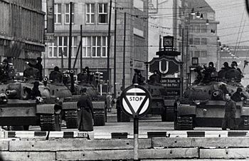 Soviet Tanks near Checkpoint Charlie - Flickr - The Central Intelligence Agency (crop).jpg