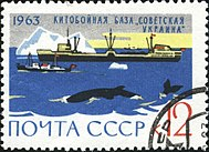 Soviet Union-1963-stamp-Arctica and Antarctica-12K.jpg