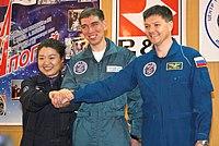 Opsendelse:Yi So-yeon, Sergei Volkov, Oleg Kononenko