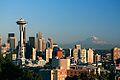 Space Needle Mount Ranier Seattle Washington USA.jpg