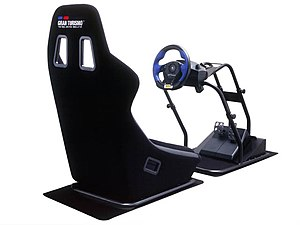 Gran Turismo (series) - Official Gran Turismo kit with GT Force and Racing Cockpit.