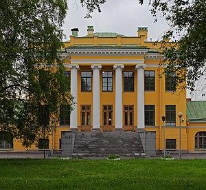 Yekaterina Vorontsova-Dashkova - Dashkova's villa in Kiryanovo near St. Petersburg