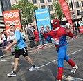 Spiderman at London Marathon 2011 (5630054229).jpg