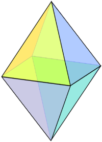 Square bipyramid