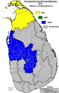 2013 Sri Lankan provincial council elections