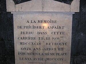 Philibert Aspairt - Tomb of Philibert Aspairt