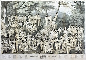 Forty-Eighters - St. Louis Turnverein, 1860