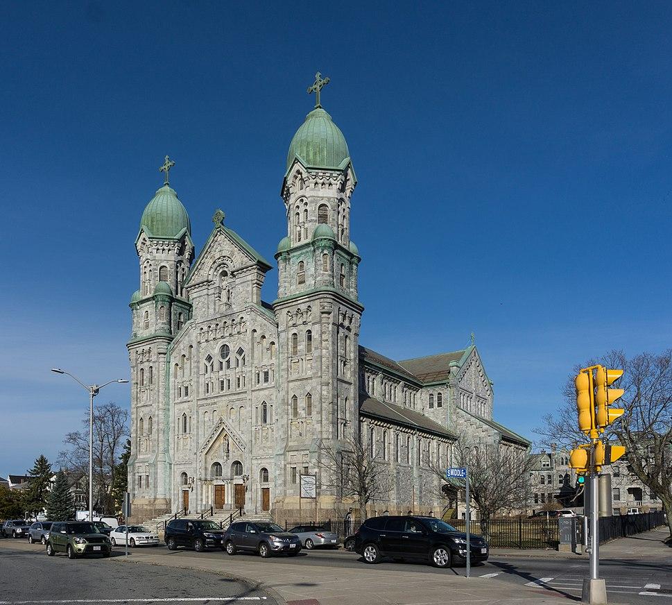 St. Anne's Church and Parish Complex Fall River massachusetts