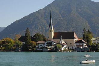 Rottach-Egern - Church of St. Laurentius