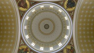 St. Nicholas' Church, Potsdam - A look into the cupola