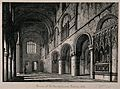 St Bartholomew's Priory Church, London; the interior, lookin Wellcome V0013131.jpg