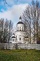 St Georges parish (Čyžoŭka microdistrict, Minsk), first orthodox church (of the Minsk icon).jpg