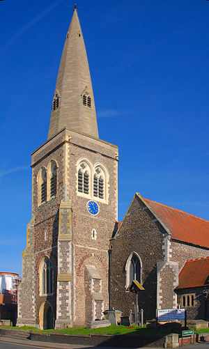 St Giles' Church, Reading - Image: St Giles' Church, Reading