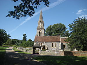 Englefield, Berkshire - Image: St Mark's Church Englefield 2