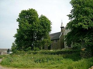 Driby village in United Kingdom