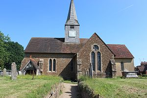Thursley - Thursley's church dates back to Saxon times, though most of the structure is later