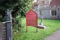 St Nicholas, Fyfield, Essex - Notice board - geograph.org.uk - 964355.jpg