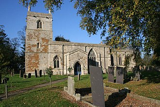Saltby - St Peter's church