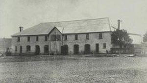 Camelot (Kirkham) - Image: Stables behind Camelot House, Kirkham, New South Wales