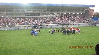 Stadion Metalac - Image: Stadion FK Metalac 2